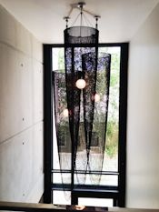 BB Design. An arrangement of 3 Extra long Pods in black chain in a double volume stairwell of a private residence. #willowlamp #‎bespokelighting #chandelier #interior #lighting‬ #interiors #inspiredinteriors #lightingdesign #customlighting #chandelier #interiordesign #interiordecor #interiorstyle #interiorlovers #interior4all #interior4u #interiordecorating #interiorstylings #interiorarchitecture #interiores #interiorandhome #interiorforinspo #deco #homedesign #homestyle
