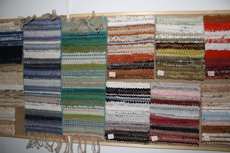 ANKI Rugs - Vintage colour samples dating back to the 70's