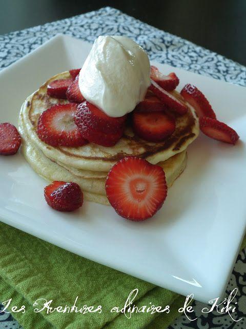 Pancakes au levain et au babeurre