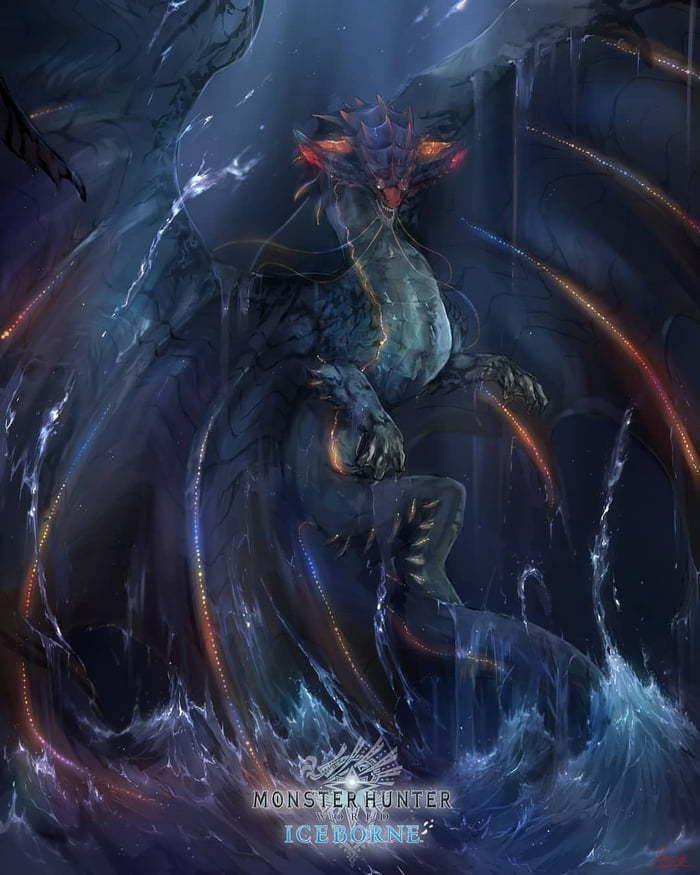 Namielle From Mhw Iceborne Monster Hunter Art Monster Hunter World Monster Hunter