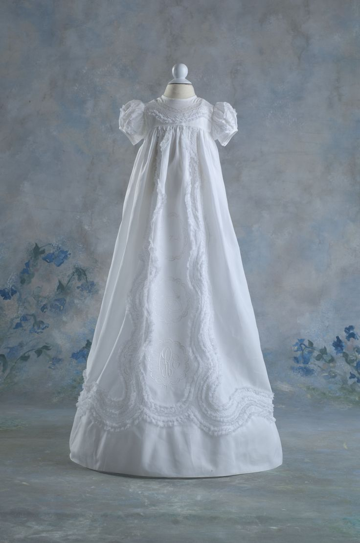 154 best Heirloom Sewing - Christening Gowns images on Pinterest ...