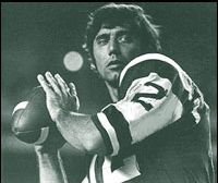 Joe Namath The Hall of Fame Quarterback was twice named AFL Player of the Year (1968 & 1969) as well as Super Bowl III MVP. Passed for 27663 yards and 173 touchdowns in his 11 seasons with the Jets.