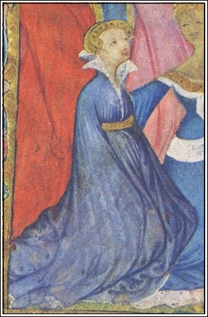 Katherine de Roet-Swynford (c.1350-1403), mistress & eventual 3rd wife of Plantagenet Prince John of Gaunt (and as such, Duchess of Lancaster), ancestress of the Tudor line.