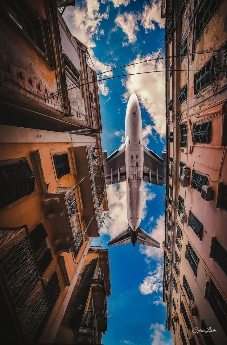 Photograph Low Flight by Spiros Lioris on 500px  Corfu town, Greece.  GREAT PICTURE!!!!
