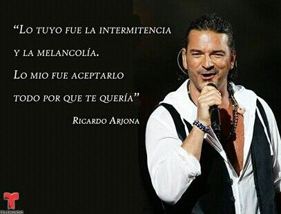 Fuiste tu- Ricardo Arjona.