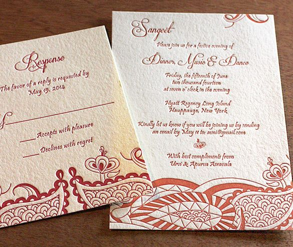 11 best beautiful south asian style invitations images on pinterest hindu indian letterpress wedding card and stationery design gallery arti by invitations by ajalon stopboris Images