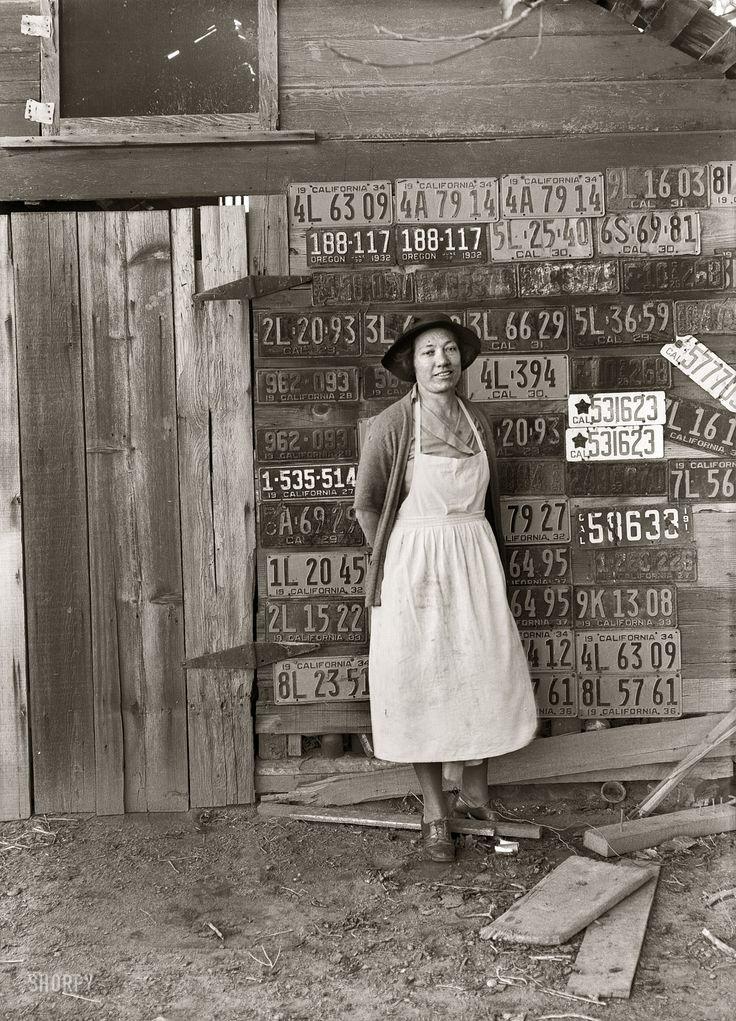 Dorothea Lange : The Selvedge Yard
