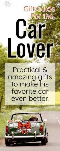 These unique and helpful gifts for car lovers will give you some accessories for your boyfriend, your car guy or just a car warming gift they'll t…
