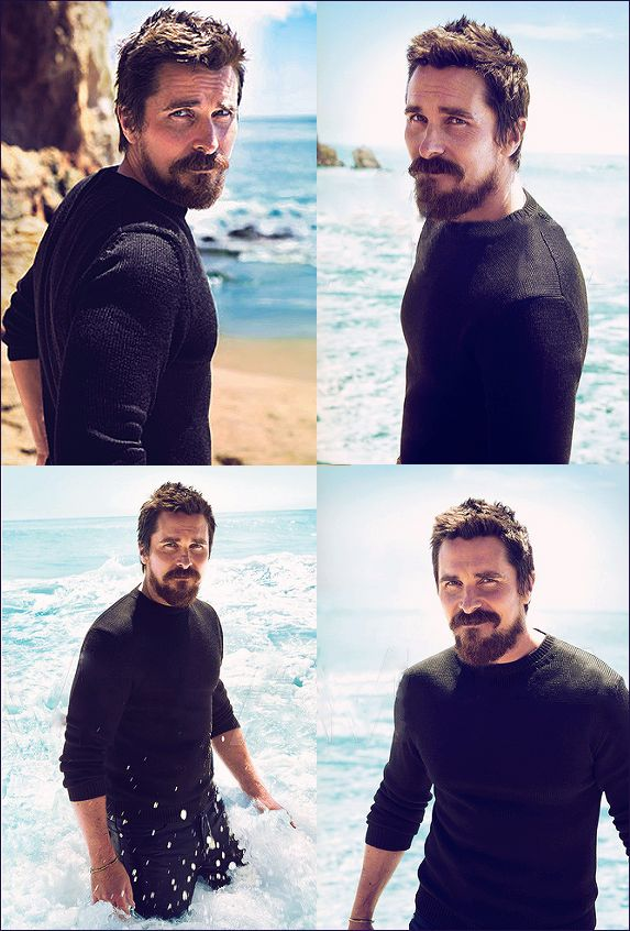 Christian Bale Seaside Photoshoot - Christian Bale | Baleheads Blog