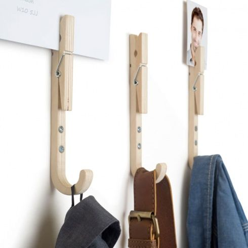 3 Jpegs coat hooks by Thabto | www.lovethesign.com/uk