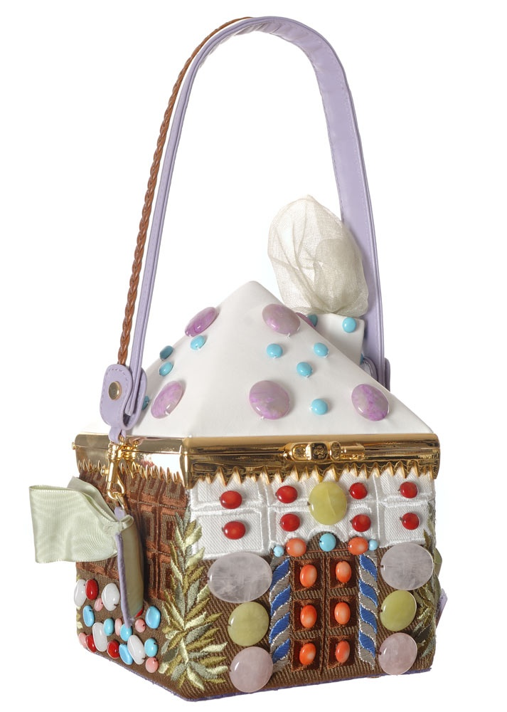 "Ines Figaredo - Collection Nature - Chocolate house ** too cute** >w<"": Amazing Art Bags, Clothing, Iné Figaredo, 1 850 Ine, Ine Figaredo Bags, Chocolates House, House Purses, Amazing Artbag, Figaredo Chocolates"