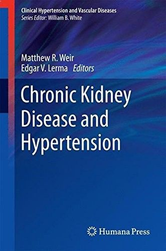 Download free Chronic Kidney Disease and Hypertension (Clinical Hypertension and Vascular Diseases) pdf