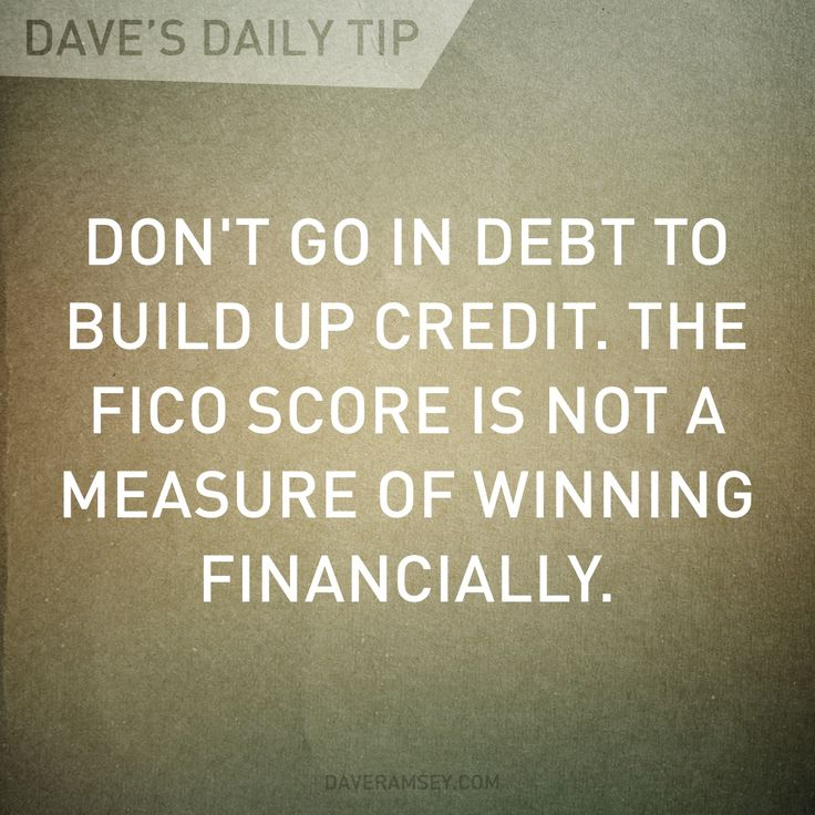 Your FICO score is not a measure of winning financially.