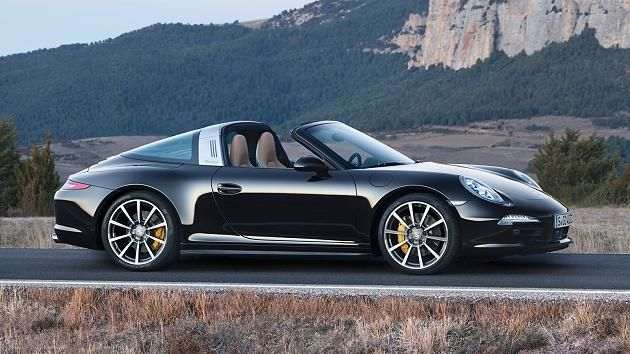 The new Targa: the return of the silver strap – pictures – sports car – Porsche 991