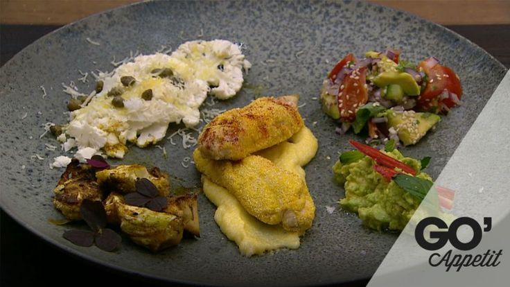 Kyllingeinderfilet i chili-polenta | Mad