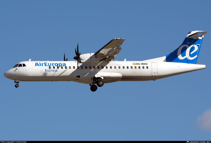 EC-MMZ Air Europa Express ATR 72-500 (72-212A)