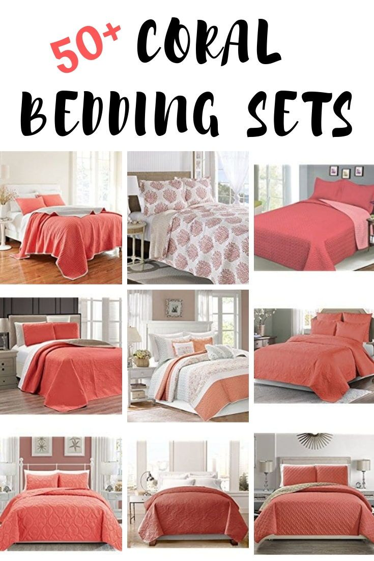 Coral Bedding Sets And Comforters Coral Bedding Coral Bedding Sets Coastal Bedrooms