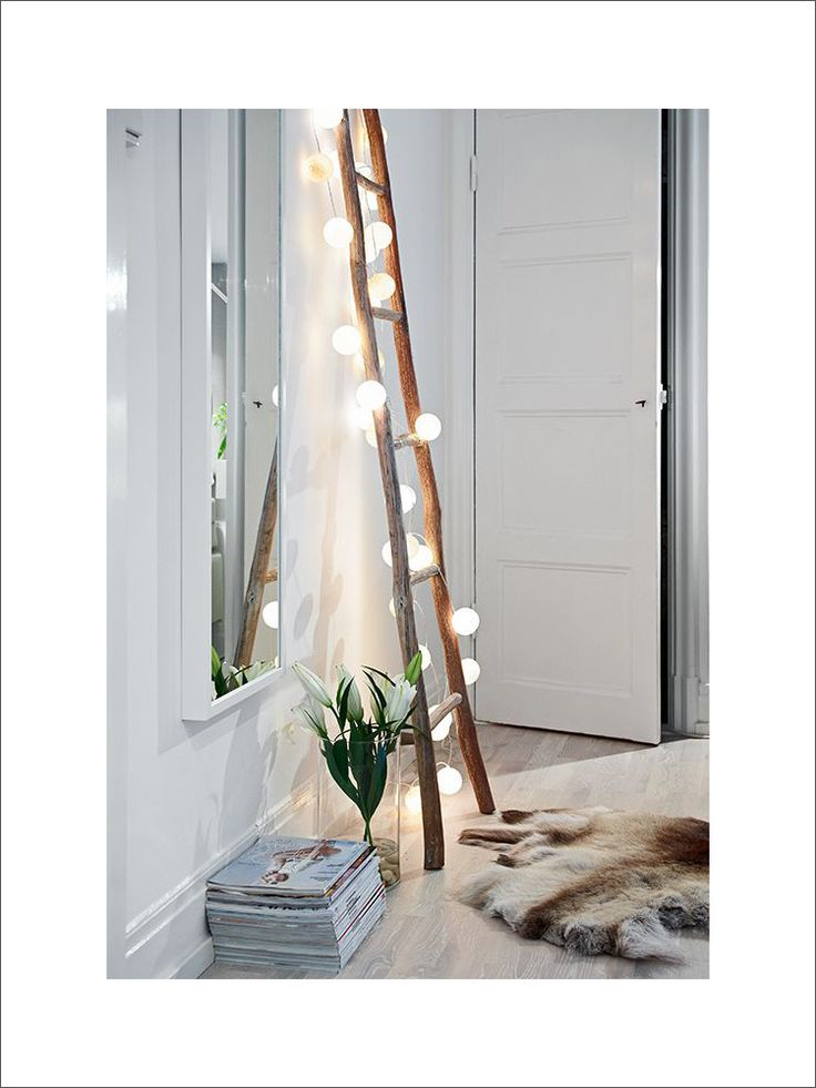 Fairy Light Ladders // In need of a detox? 10% off using our discount code 'Pin10' at www.ThinTea.com.au