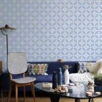 Diseños para la decoración de interiores, no gastes fortunas en papel tapiz, mejor pinta tus paredes con plantillas y crea el mismo ambiente pero a menor precio!