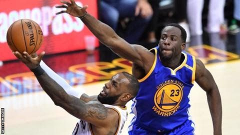 """Draymond Green (right) was named the NBA's defensive player of the year last season  Draymond Green has warned that basketball has """"not yet seen the best"""" of the Golden State Warriors.  Green won his second NBA title as the Warriors beat Cleveland Cavaliers 4-1 to regain the NBA Championship in June. The Warriors can become the seventh franchise in NBA history to win back-to-back titles when the new season begins in October. """"I know we can and will get better"""" said Green 27.  Green  the…"""