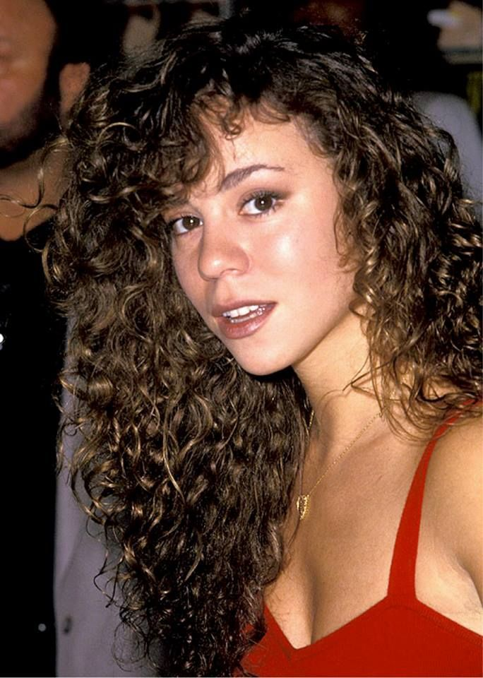 Image Result For Mariah Carey Curly Hair 90s With Images Hair