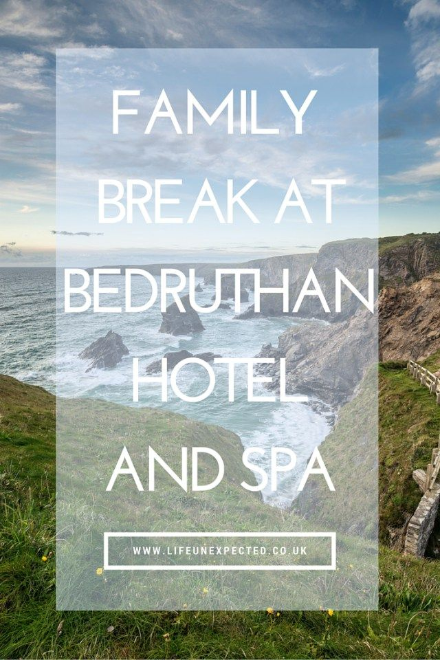 Family Break at Bedruthan Hotel and Spa in Cornwall. The most family friendly place we've every stayed! Perfect for kids of all ages from babies, to toddlers, to bigger kids.