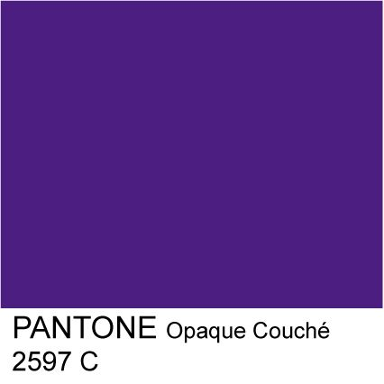 If I Could Be Any Color I Would Be Pantone 2597 C Print