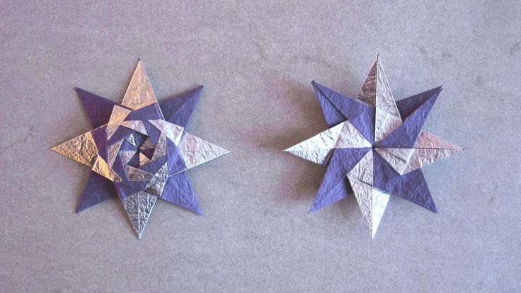 Christmas Origami Instructions: Braided Star (Maria Sinayskaya) (+playlist)