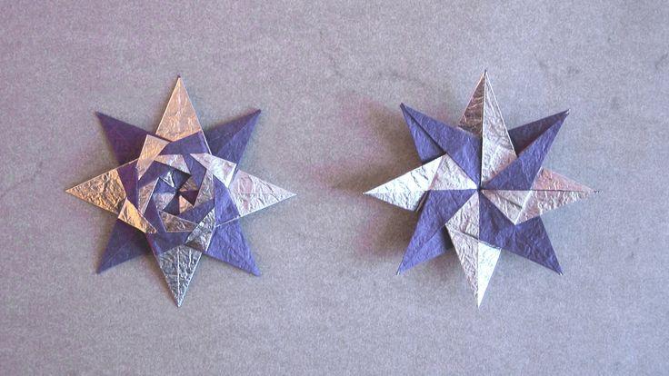Christmas Origami Instructions: Braided Star (Maria Sinayskaya) (+playlist)