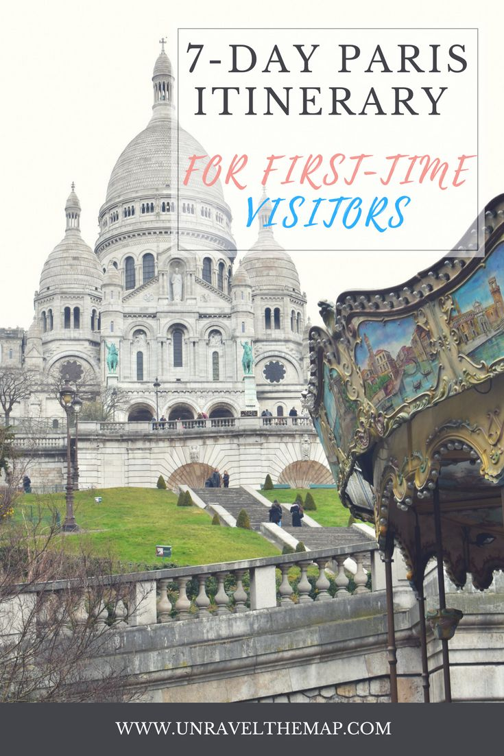 Planning a trip to Paris? Maximize your time and energy by following our 7 day itinerary for first time visitors to Paris, France!