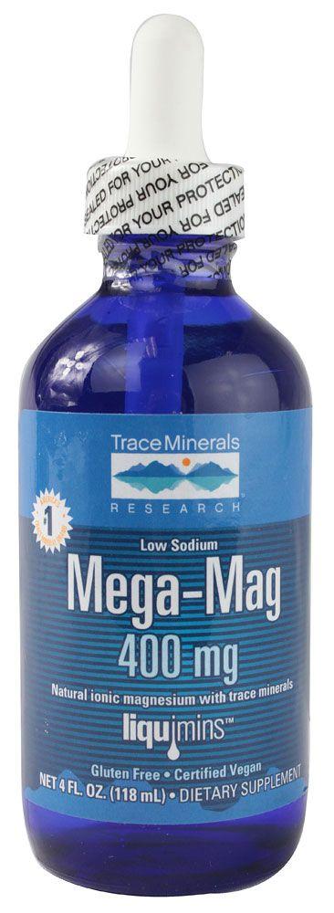 Trace Minerals Research Mega-Mag Liquid Magnesium