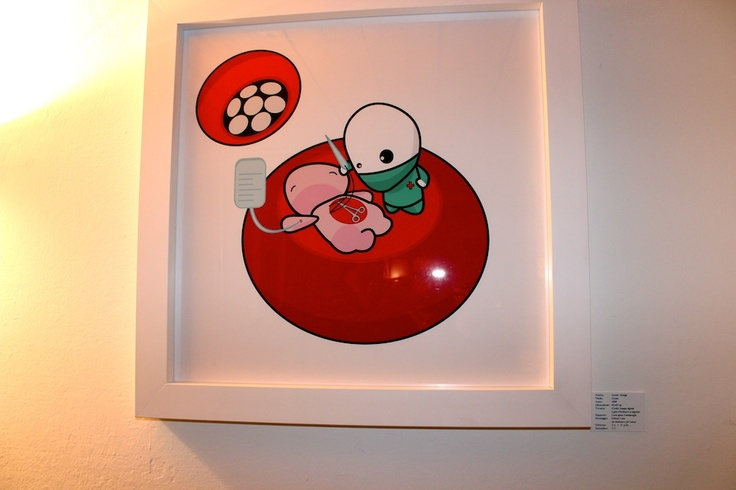 Doctor Flop Solo Exhibition at Case Aperte Art Gallery - Bologna, Italy