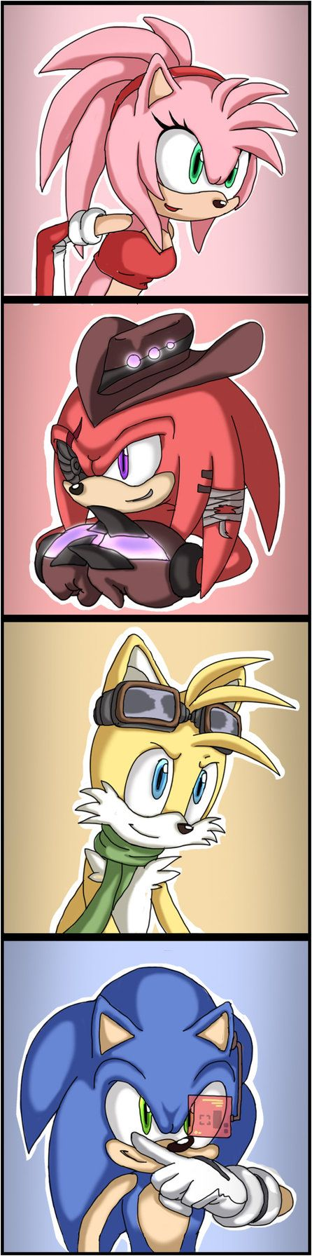 Sonic Team 5YL - be ready for the day by Shira-hedgie on DeviantArt