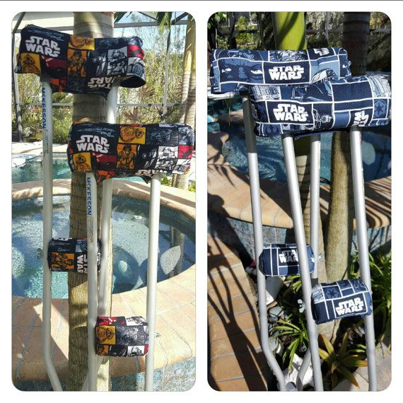 Star Wars crutch cover by FractureFashionz on Etsy