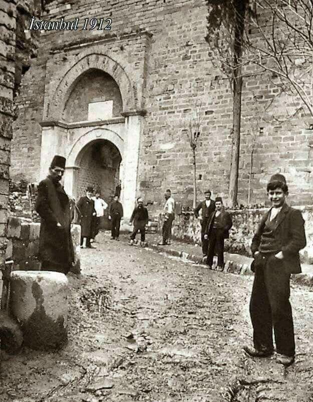 Yedikule kapısı 1912