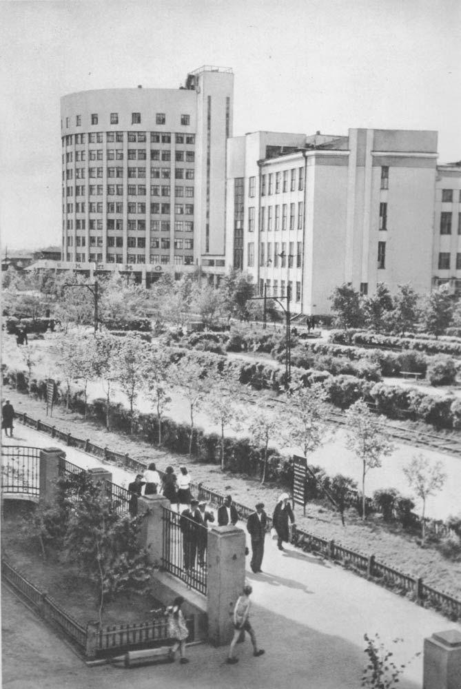 Городок Чекистов. 1950.
