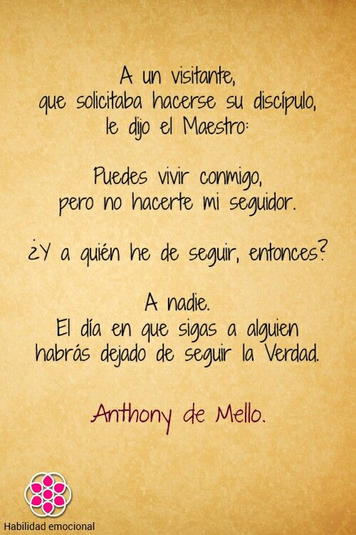 wellsprings anthony de mello pdf