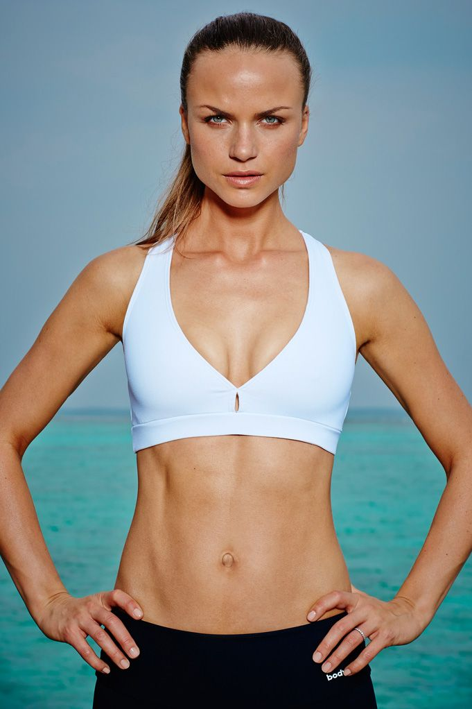 The Lily Sports Bra  It's a supportive and comfortable sports bra that's essential, whatever the workout. This bra will sculpt to your body for maximum support and is specifically designed with a flattering silhouette in mind.  Available now, £50.00 at http://www.bodyism.com/product/lily-sports-bra-ss15-white/