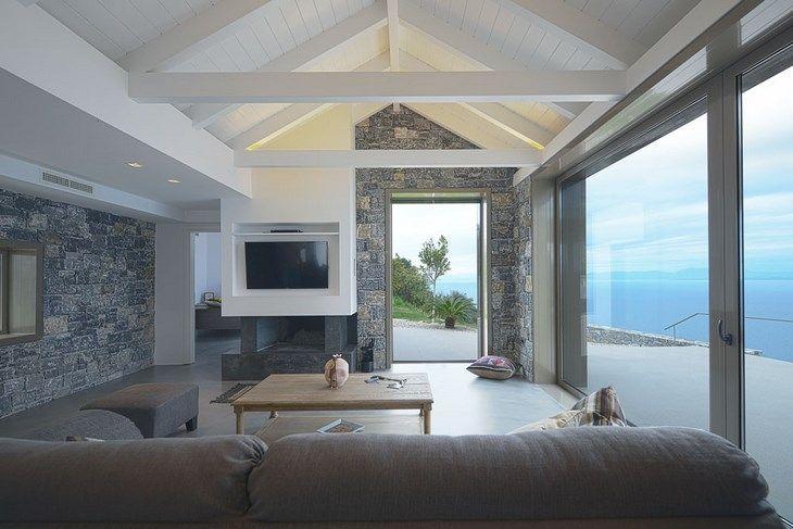 Villa Melana at Peloponnese, Greece by Valia Foufa & Panos Papassotiriou architects
