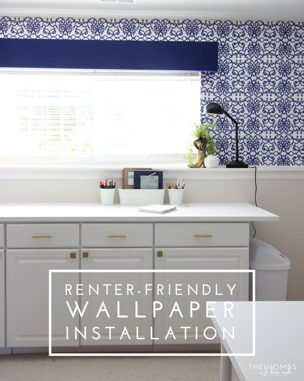 Renter Friendly Wallpaper Installation- NONPASTED wallpaper and liquid Starch!!- removes easily??