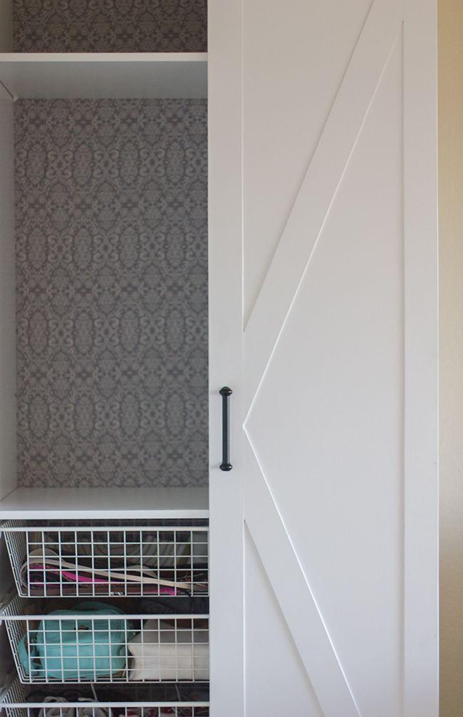 Master Makeover: Ikea Pax Door Hack | Jenna Sue Design Blog