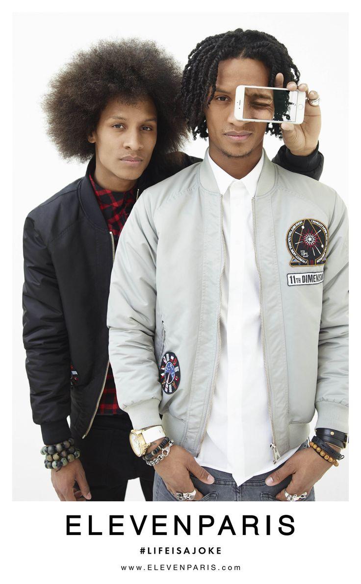 ELEVENPARIS FW15 campaign with Les Twins shot by Felix Cooper #elevenparis #lifeisajoke