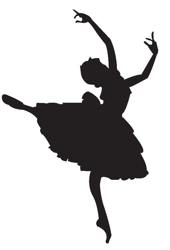 Ballet Dancer Clipart Silhouette  Panda Free Images                                                                                                                                                                                 More