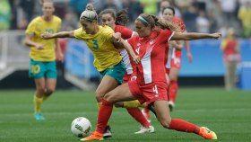 La première place du groupe sera à l'enjeu entre l'équipe canadienne de soccer féminin et son adversaire, la féroce Allemagne,...