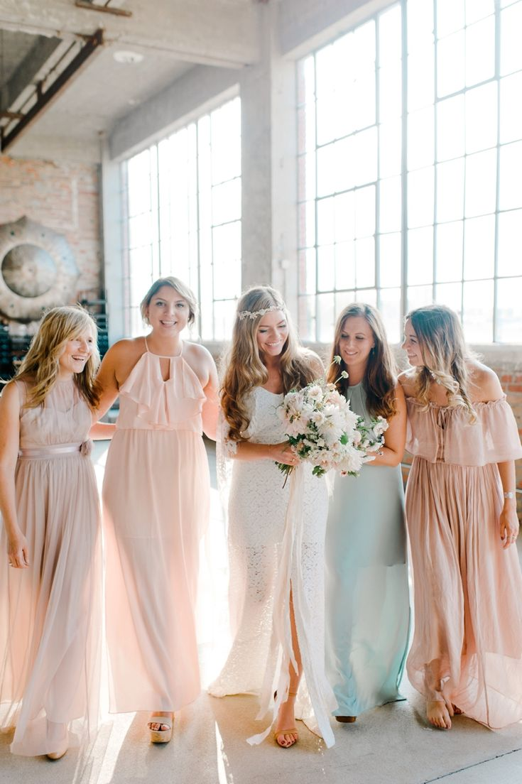 Nadia Meli | Boho Wedding in the city. Boho Wedding Inspiration