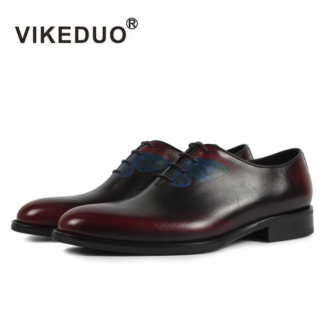Special offer VIKEDUO Luxury Brand Fashion Personalized Butterfly Men Oxford Shoe 2017 Newest Handmade Man Male Dress Footwear Genuine Leather just only $244.30 with free shipping worldwide  #menshoes Plese click on picture to see our special price for you