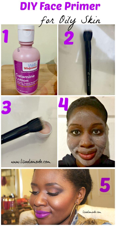DIY Face Primer For Oily Skin: Calamine Lotion
