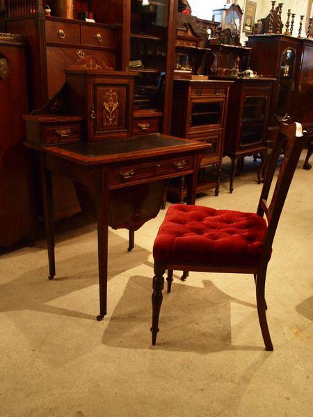 Rosewood desk 1900's