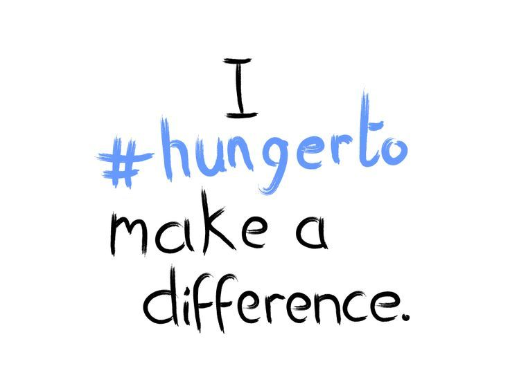 World Food Day: I #Hunger to Make a Difference