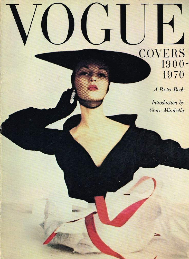 Fashion Magazine Covers Were So Much More Glamorous In The 1950s ...
